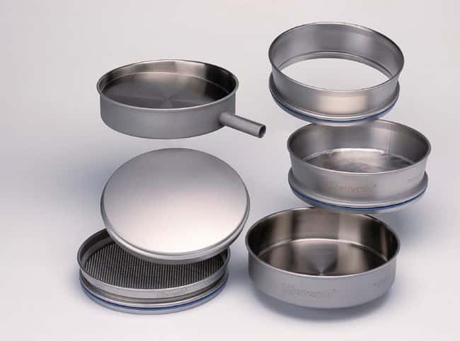 RETSCH Stainless Steel Collecting Pan for Test Sieves:Spatulas, Forceps