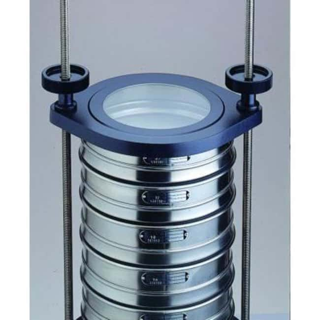 RETSCHAS 200 Standard Clamping Devices For Use With Dry Sieving RETSCHAS 200 Standard Clamping Devices