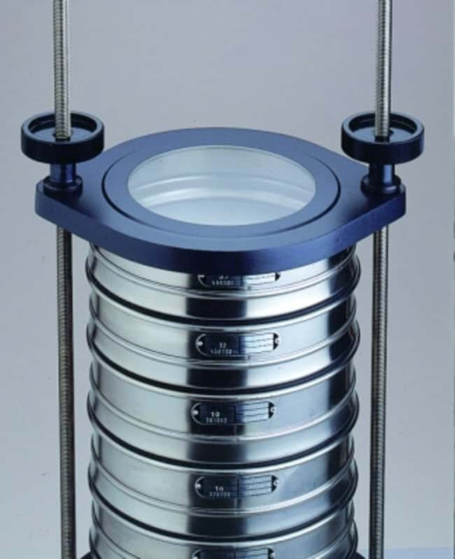 RETSCHAS 200 Standard Clamping Devices For Use With Wet Sieving RETSCHAS 200 Standard Clamping Devices