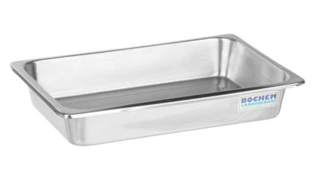 Bochem™18/10 Stainless Steel Evaporating Dish with Rim Width: 210mm Bochem™18/10 Stainless Steel Evaporating Dish with Rim
