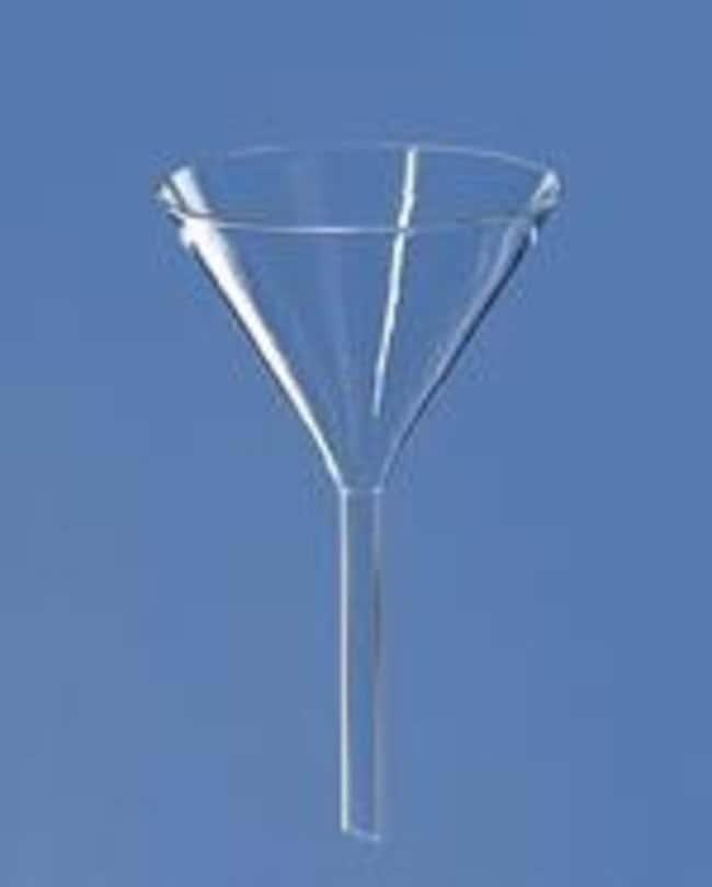 Brand™Embudo de vidrio de borosilicato Stem Length: 40mm Brand™Embudo de vidrio de borosilicato