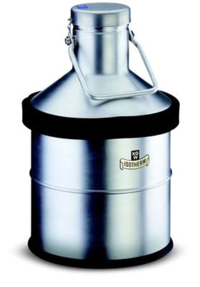 KGW Isotherm™ Sphärische Dewargefäße Capcity: 1000mL; Dia.: 185mm; Inner Height: 235mm; Outer Height: 300mm Produkte