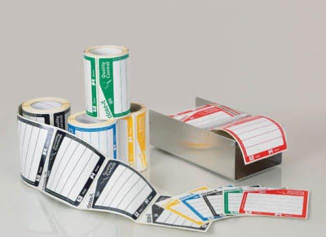Buerkle™Sello de control Close-it™ Dimensiones: 95mm de L x 95mm de An.; blanco; sin imprimir Buerkle™Sello de control Close-it™