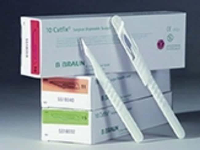 B Braun™Scalpels en acier inoxydable Cutfix™: Lames et couteaux pour microtomes Histologie, Cytologie et anatomie pathologique