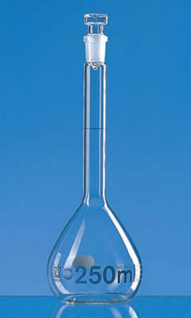 BrandTech BRAND Blaubrand Borosilicate Glass Class A USP Volumetric Flask