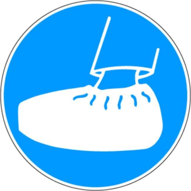Brady™Gebotsschilder aus verstärktem Polypropylen Use Overshoes; Diameter: 315mm Brady™Gebotsschilder aus verstärktem Polypropylen