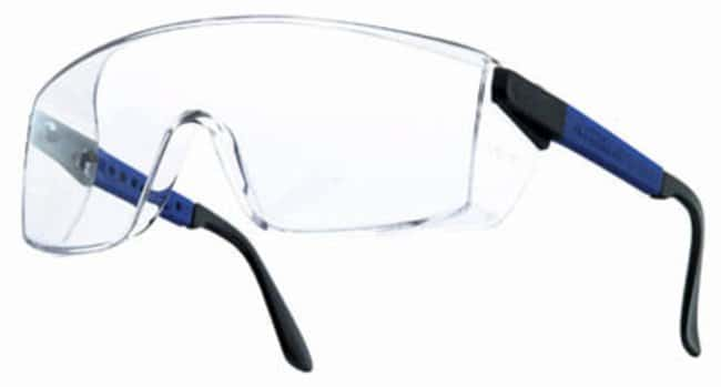 Bollé SafetyBlue Nylon Frame Polycarbonate Lens Safety Glasses Anti-Scratch and Anti-Fog General Purpose Safety Glasses