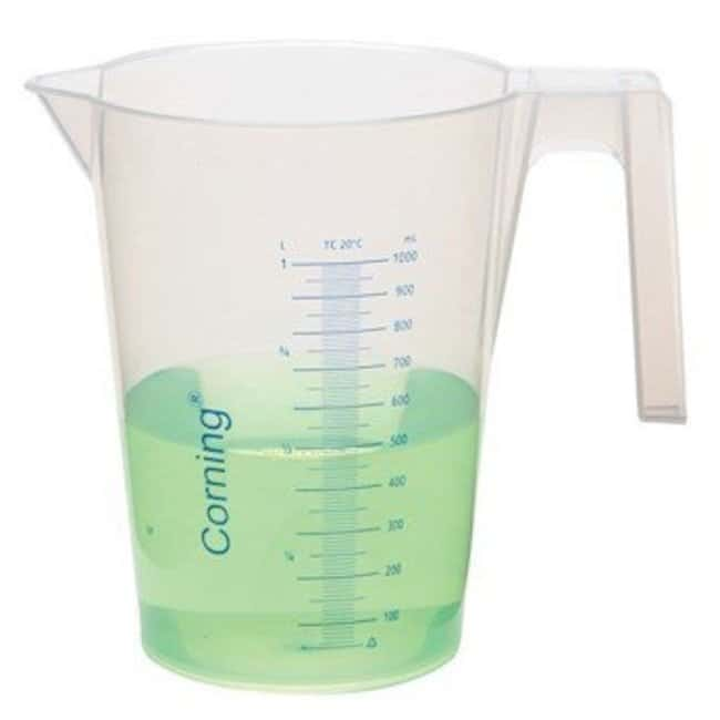 Corning  Reusable Plastic Beakers with Handle and Spout