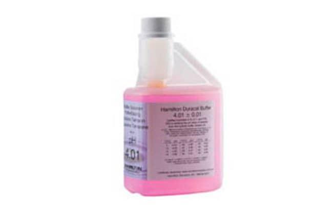 DuraCal™ 4.01 Value pH Buffer, Hamilton™ Quantity: 500mL pH Reference Buffers