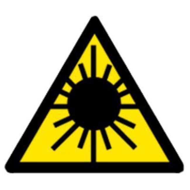 Brady™ Polypropylene Laser Radiation Warning Sign Width: 200 mm Brady™ Polypropylene Laser Radiation Warning Sign