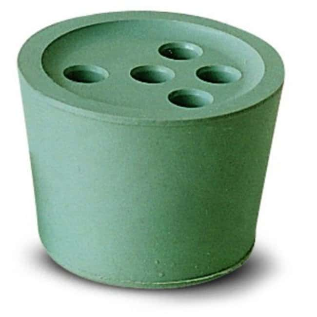 Saint-Gobain Pre-Drilled Conical Rubber Stoppers Diameter Bottom: 41 mm Products