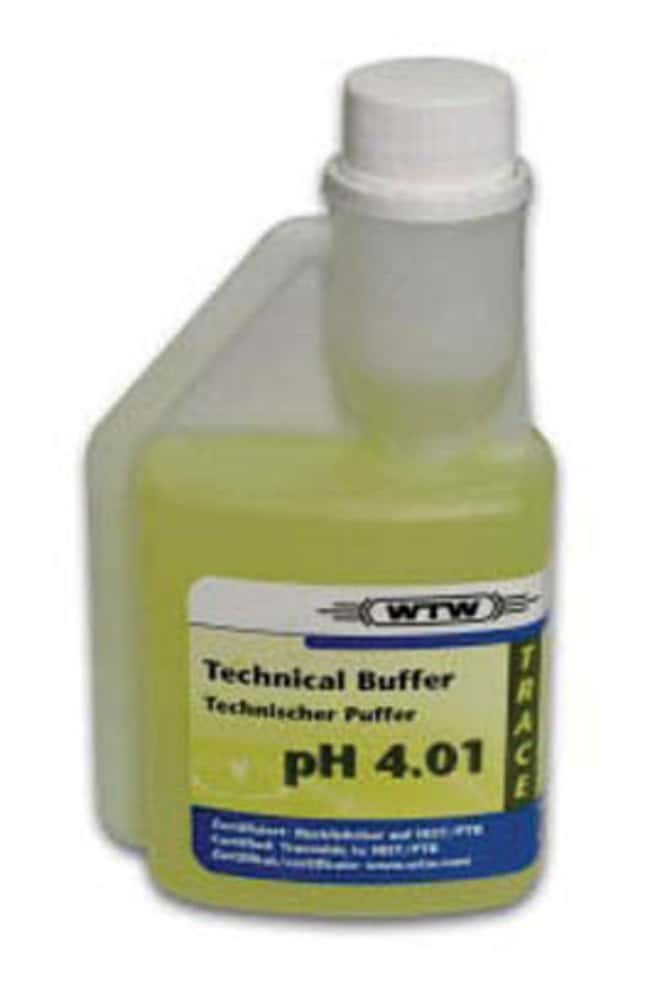 WTW™Technische Pufferlösung pH 4.01 Menge: 250ml; pH: 4.01; Verpackung: 25Flaschen Universalpuffer