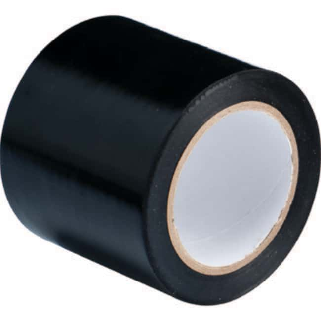 Brady Marking Tape Roll: Abrasion Resistant Vinyl, Solid Color, Black Abrasion