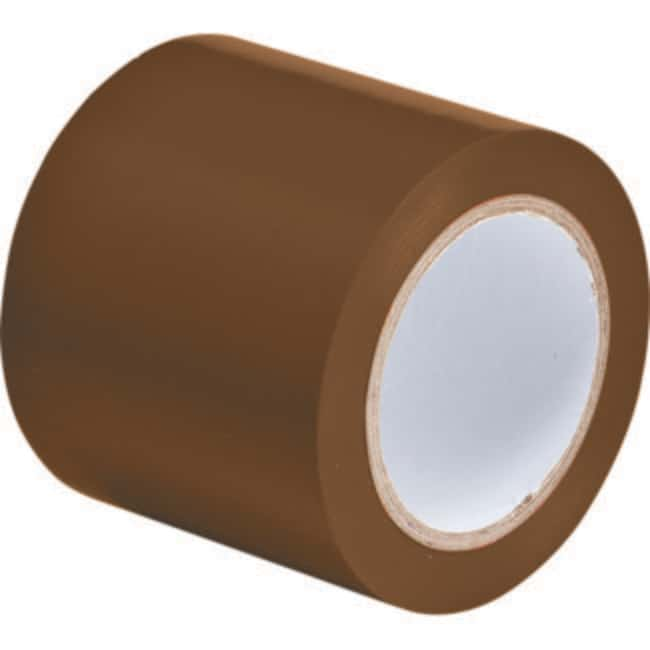 Brady Marking Tape Roll: Abrasion Resistant Vinyl, Solid Color, Brown Abrasion