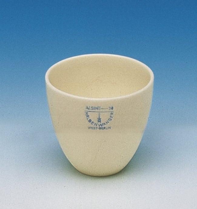 Haldenwanger™Aluminum Ceramic Conical Squat Form Crucible Capacity: 80mL Haldenwanger™Aluminum Ceramic Conical Squat Form Crucible