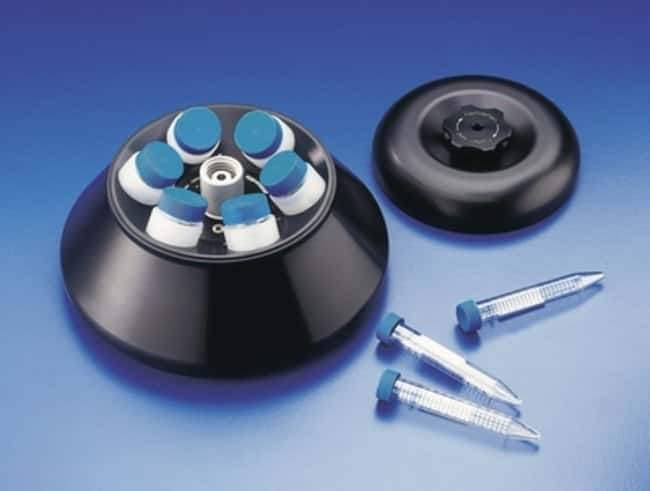Eppendorf™ Fixed Angle Rotor with Lid for Benchtop Centrifuge: Bench Top Rotors Centrifuge Rotors