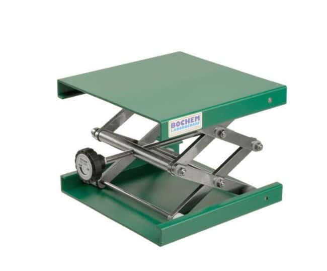 Bochem™Lab-Jack Hebebühne aus Aluminium/Epoxyd: Halterungen für Kolben, Zylinder und Apparaturen Clamps, Stands and Supports