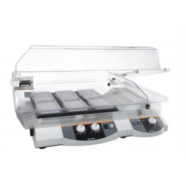 Heidolph™Titramax Komplettpaket Enthält: 1Ein Vibrationsplattformschüttler, Titramax1000, 1in Heizmodul, 1flache Inkubatorhaube. Orbitalschüttler