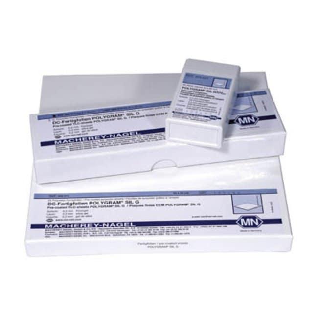 Macherey-Nagel™Polygram SIL G Polyester Sheets Plate Size: 200 x 200mm Macherey-Nagel™Polygram SIL G Polyester Sheets