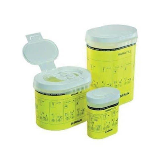 B Braun™Medibox™ Entsorgungsbehälter für spitze Gegenstände Capacity: 0.7L B Braun™Medibox™ Entsorgungsbehälter für spitze Gegenstände