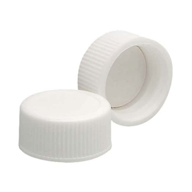 Wheaton™ Cap Cap Size: 20 to 400; Color: White Products