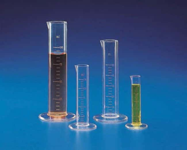 Kartell™ (TPX™) PMP Low Form Measuring Cylinders: Cylinders Beakers, Bottles, Cylinders and Glassware