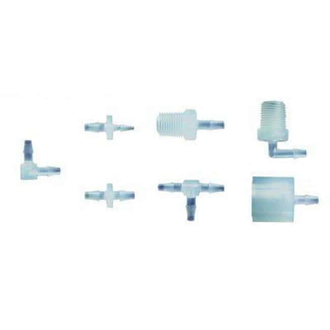 Ark Plas Products™ Natural Kynar Premium Grade Barbed Elbow Connectors Size: 1/8 x 1/8 in. Barb Ark Plas Products™ Natural Kynar Premium Grade Barbed Elbow Connectors