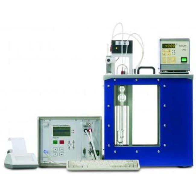 SI Analytics™ViscoSystem AVS® 470 Basis-Einheit, für optoelektronische Abtastung, 95V bis 230V Spannung: 230V Consistometer