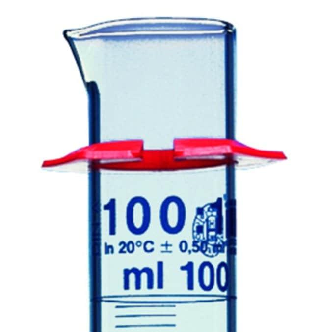 Hirschmann™Anneaux de protection pour cylindre en verre Dia.int.: 21mm Hirschmann™Anneaux de protection pour cylindre en verre