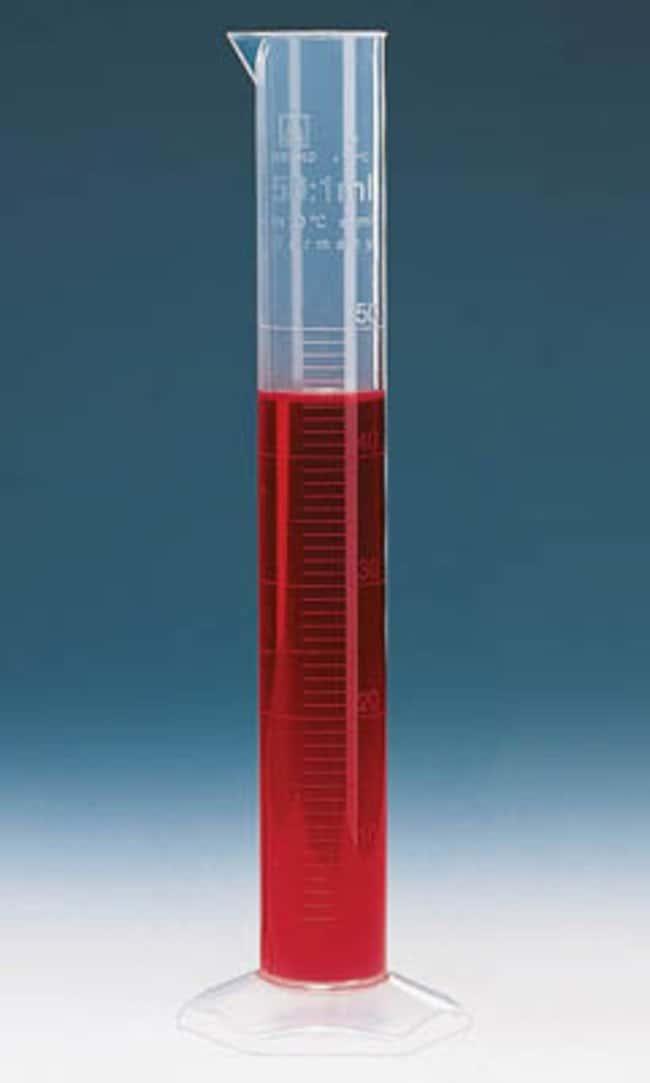Brand™Cilindri di misurazione di classe B alti in polipropilene Capacity: 50mL; Scale: Embossed prodotti trovati