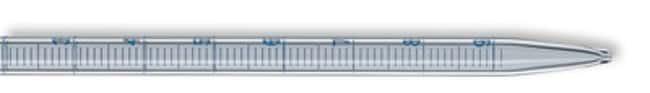 Brand™Blaubrand™ Soda Lime Glass Graduated Pipets Capacity: 10mL; Orange Volumetric Pipettes