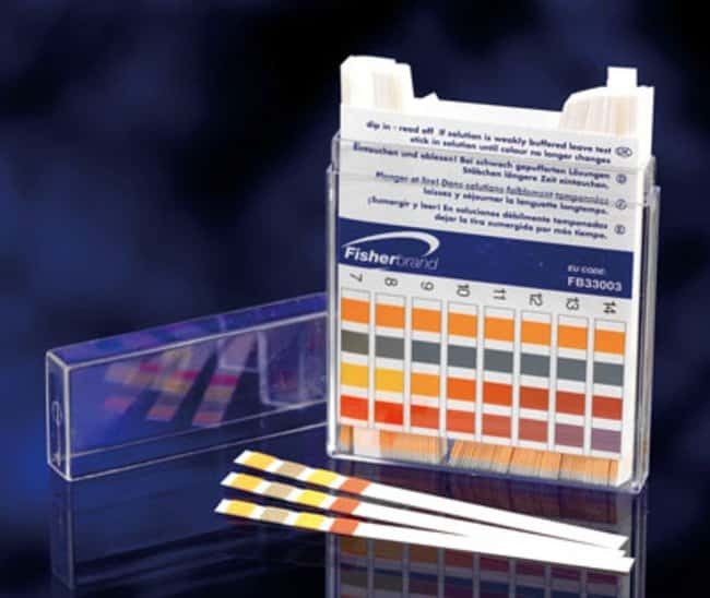 Fisherbrand™ pH Indicator Paper Sticks: Water and Wastewater Testing Supplies Water Testing and Environmental Analysis