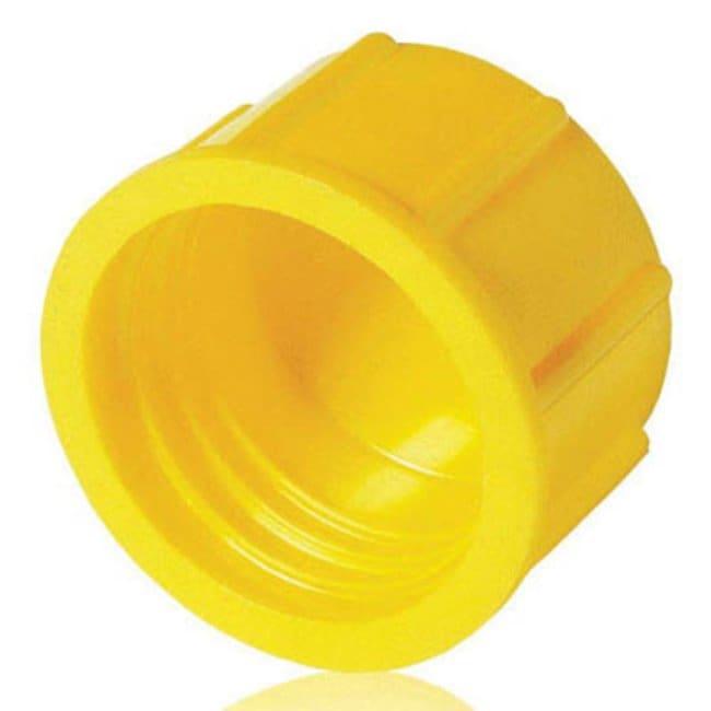 Poeppelmann™GPN 800 Serie HDPE-Schraubverschluss, gelb Abmessungen (Außen-ØxH): 21x13.5mm, G3/8 Gewindeausführung Produkte