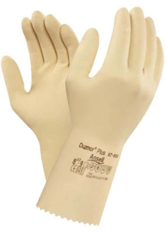 Ansell Edmont™ Duzmor™ Plus 87-600 Series Natural Rubber Latex Immersion Gloves Size: 10 Products