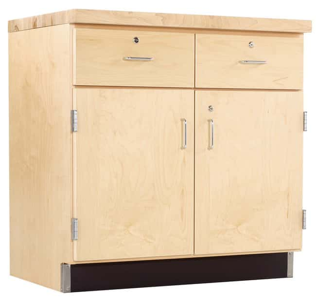 Diversified Woodcrafts Maple Base Cabinets   Door/Drawer Base Cabinet:Teaching