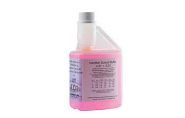 Hamilton™ DuraCal™ 4.01 Value pH Buffer Quantity: 3 x 500mL pH Reference Buffers