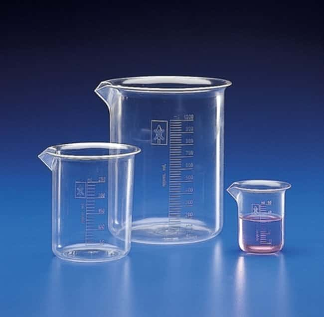 Kartell™PMP Class B Low Form Beakers Capacity: 25mL Kartell™PMP Class B Low Form Beakers