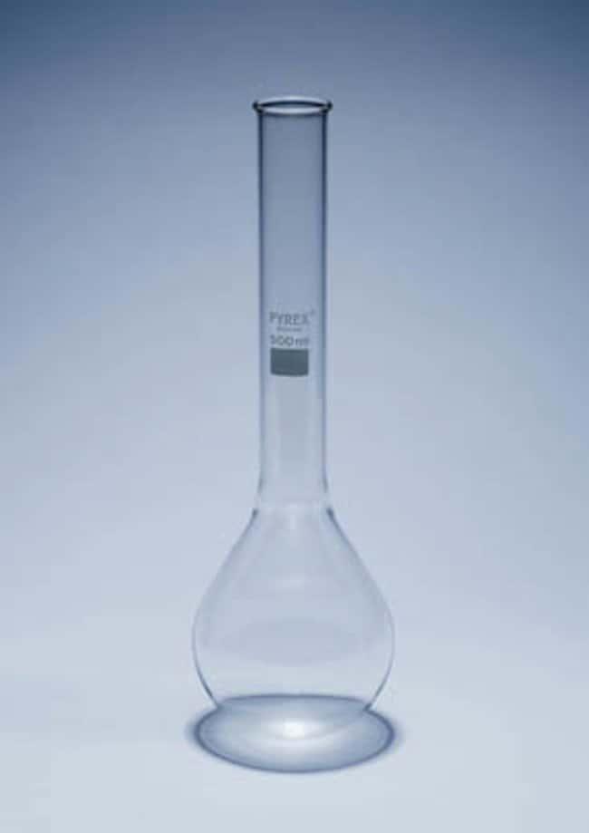 Matraz Kjeldahl con cuello plano de vidrio de borosilicato Pyrex™ Capacity: 300mL Matraz Kjeldahl con cuello plano de vidrio de borosilicato Pyrex™
