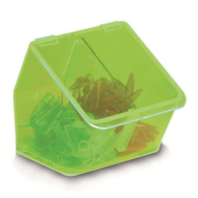 Fisherbrand™Benchtop Double Dispensing Bin Color: Green Bins