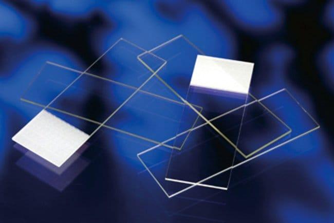 Fisherbrand™Mikroskopobjektträger mit geschliffenen Kanten Stärke: 0,8 bis 1,0mm Fisherbrand™Mikroskopobjektträger mit geschliffenen Kanten