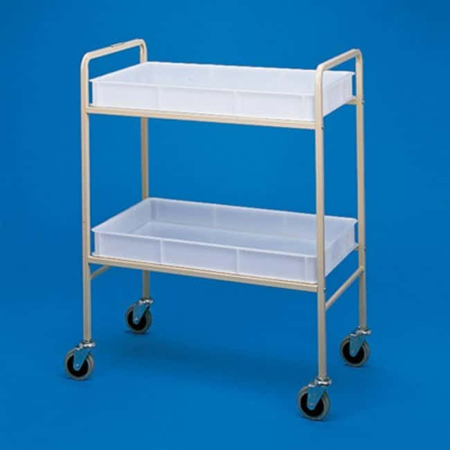 Metal Trolley Height: 1050mm Janitorial Utility Carts
