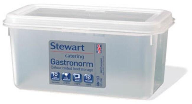 Azpack Stewart Gastronorm Polypropylene Storage Container