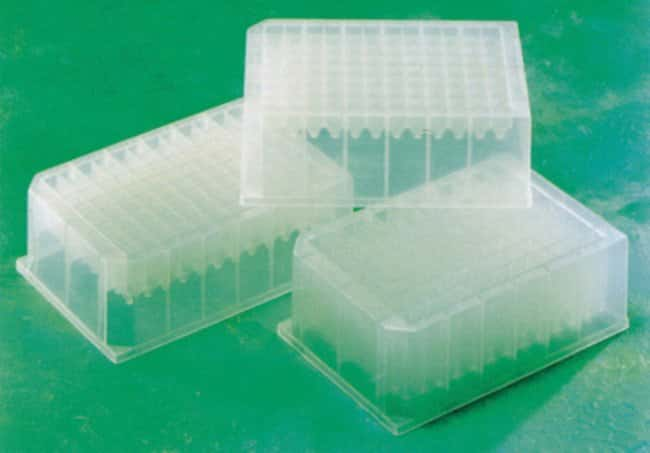 Fisherbrand™Deep-Well, Square-Well Microplate, 96 Well Well Volume: 1mL Ver productos