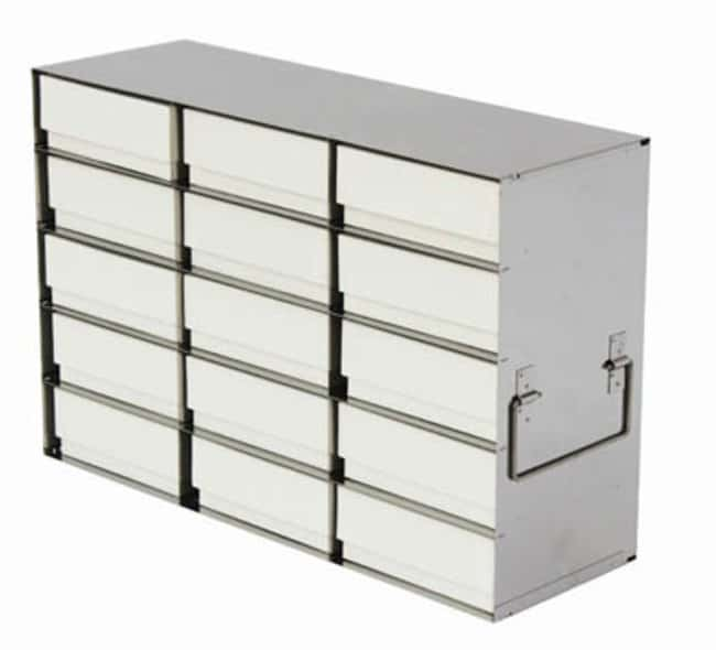 Tenak™ Standard Rack for Upright Freezer, 130 mm Box Height, with Boxes Holds: 6 Boxes (2 x 3) Ver productos