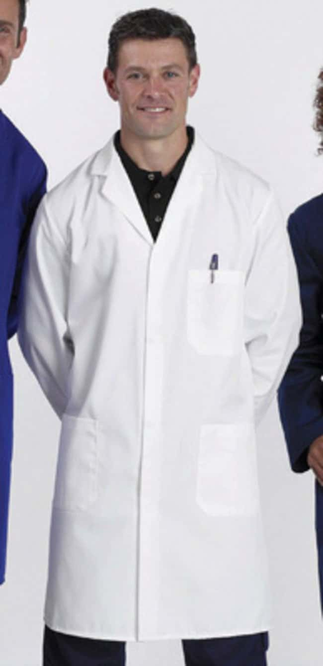 Fisherbrand™Unisex 65% Polyester/35% Cotton Laboratory Coats: Lab Coats Lab Coats, Aprons and Apparel