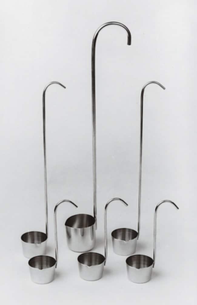 Fisherbrand™Probenschöpfer aus Edelstahl: Probennehmer Spatel, Pinzetten und Utensilien