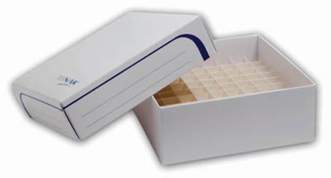 Tenak™Origami Cryobox Includes: 8 x 8 dividers Tenak™Origami Cryobox