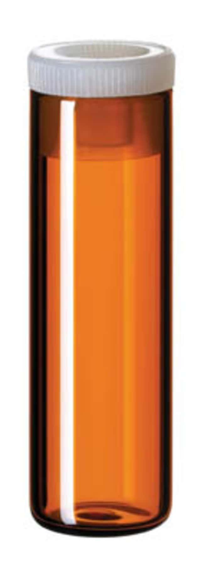 Fisherbrand™Flachbodenfläschchen aus Glas Gelb, 4ml, flacher Boden, 44.6mm Höhe Fisherbrand™Flachbodenfläschchen aus Glas