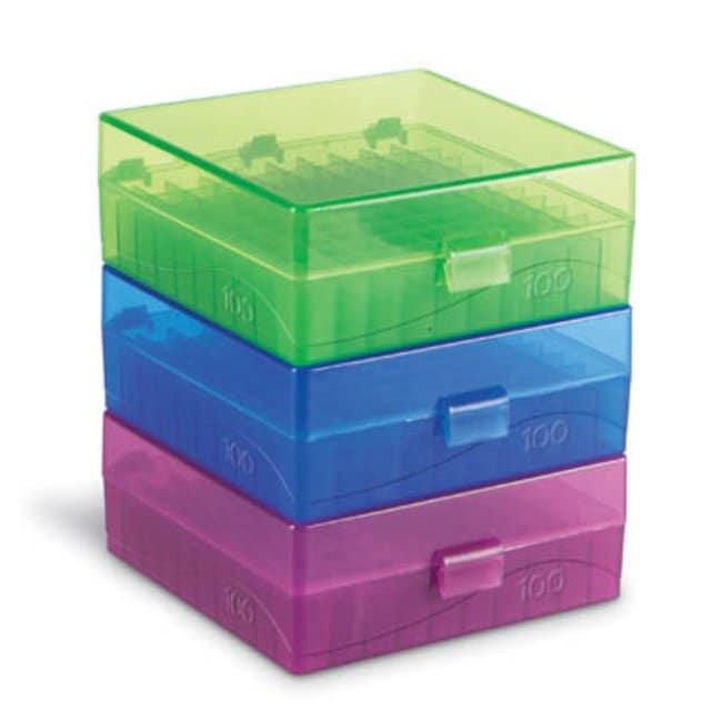 Fisherbrand™Polypropylene Microtube Storage Box: Racks Racks, Boxes, Labeling and Tape