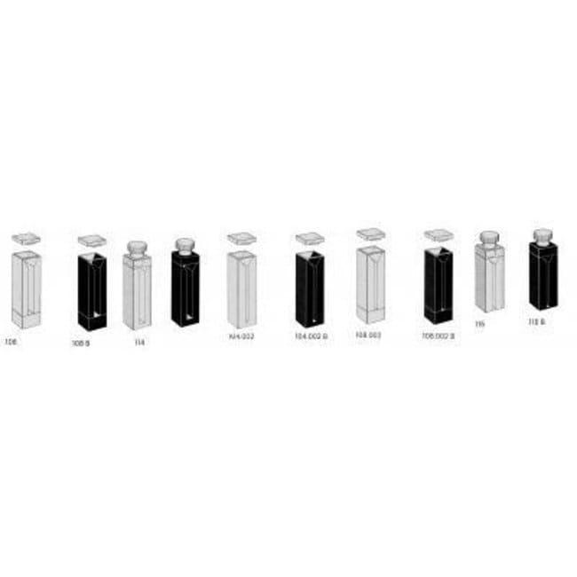 Fisherbrand Suprasil Quartz Micro Cell Cuvettes:Beakers
